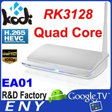 2015 Cheapest H.265 and Full 1080P Support RK3128 Quad Core Android 4.4 Smart TV Box