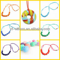 silicone sports healthy necklace