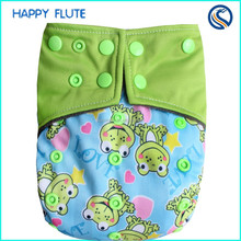 NEW !happy flute reusable AIO Wholesaler Baby cloth Diaper Sleepy Baby Diaper