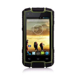 HG 2015 Guangdong factory price original military water proof IP68 dual core 4'' no brand smart phone