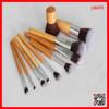 ALIBABA Best vegan bamboo 10pcs makeup brush set