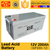 Good quality specifications lead acid 24v 200ah battery