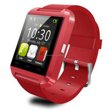 HOT 3 colors New Sport U8 smart watch Bluetooth Smart Wrist Watch Phone Mate For Android IOS Iphone Samsung LG