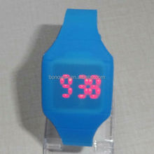 201 New arrival silicone LED watches with Japan quartz movement for women