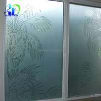 all kinds of Acid Etched Glass with CE ISO certificate 3mm-12mm fingerprint free Frosted Glass