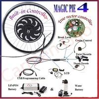 Magic Pie 4 24V/36V/48V 250W/500W/1000W/2000W electric bicycle scootor motor ebike conversion kit