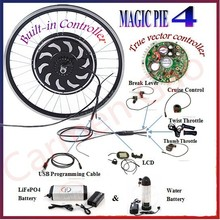 Magic Pie 4 24V/36V/48V 250W/500W/1000W/2000W electric bicycle scootor motor ebike conversion kit