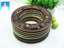 2015 hot selling decorative painting plastic curtain tiebacks ring