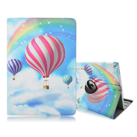 Fire Balloon 360 Degree Rotating Stand Case Smart Cover for Apple iPad Pro 12.9 Inch Tablet