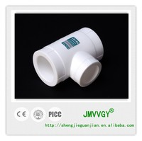 ppr pipe fitting reducing tee dimensions plastic tee OEM