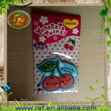 scent wholesale cheap custom paper air freshener make Factory hot sale hanging air freshener& fruit gift paper car air freshener