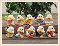 cheaper small duck figurine lovely duck toy