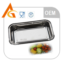 class A disposable aluminum foil food tray with slide cutter