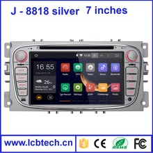7inch new android 4.4 Car DVD player fit for Mondeo with gps Navigation WIFI OBD 3G DVR car dvd player portable dvd player