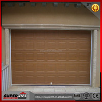 China Automatic Overhead Sectional Garage Door