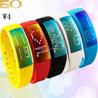 wrist pedometer watch touch screen watch with usb flash