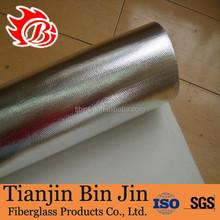 Roof Covering Aluminum Foil Coated Fiberglass Cloth Fabric