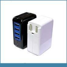 soshine 3.1A 15w 4 port usb travel wall charger