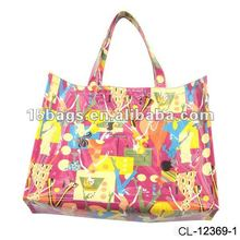 2012 Waterproof beach bag with zipper