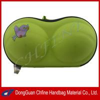 CFBCD3-00031 EVA hard shell enbroidery bra wash bag