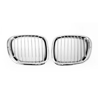 Chrome Auto Front Kidney Grille for BMW Z3 1996 2002