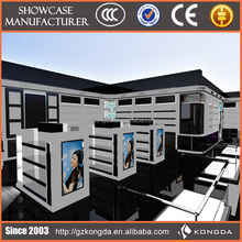 2014 hot sale factory price China manufacturer french furniture shop & fashionable cosmetic display counter KD-C-ZMC-025