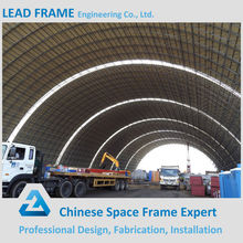 Hot Did Galvanization Roofing Space Frame Steel Construction for Coal Yard Power Plant