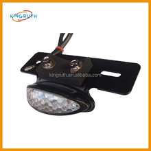 hot sale plastic rear motorcycle taillight cover