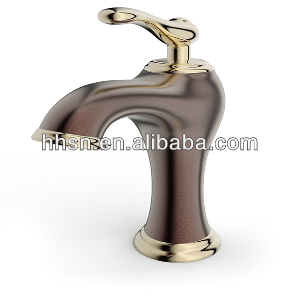 Hh121155 Contemporary Antique Brass Bathroom Faucets - Buy Cheap