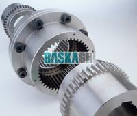 High Transmission Efficiency Hydraulic Press Drum Gear Coupling