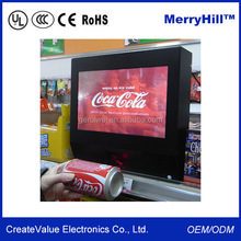 Totem Digital Signage Wall Mount 15 inch 12 inch 10 inch Motion Sensor LCD Advertising Display
