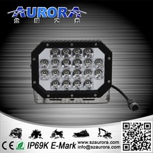 AURORA 6inch 60w quad led light 4x4 led work light