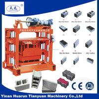 German technology QT4-40 small block making machine/small industrial project