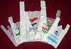 100% Hdpe/ldpe Raw Material Cheap Plastic T-shirt Bag/ Vest Carrier Bag