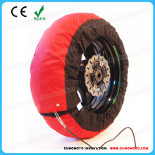 Dual -temp motocycle tyre warmer front and rear tire warmer 190 120