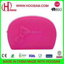 Colorful Soft Texture Zipper Bag, Measures 18.5 x 12.5cm