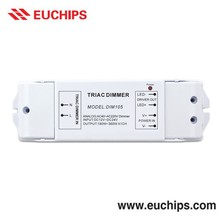 12-24V Triac Dimmer Constant Voltage Triac Dimmable LED Driver Compatible with Lutron Controller