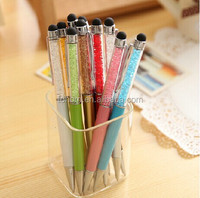 Original factory promotional wholesale gift screen touch stylus pen with diamond