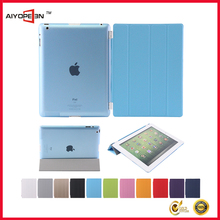 Magnetic Slim PU Leather dustproof case for iPad 2 3 4 Wake & Sleep Ultra-thin Multiple Shape