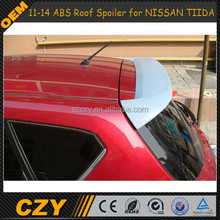 11-14 ABS Roof spoiler for Nissan Tiida