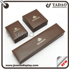 Plastic jewellery box Cutom logo jewellery box Jewellery gift box