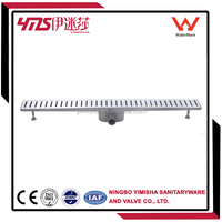 CE certification chrome plated floor drain