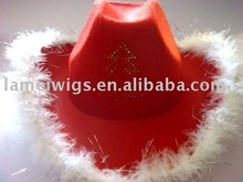 led nonwoven cowboy hats PHU-1307