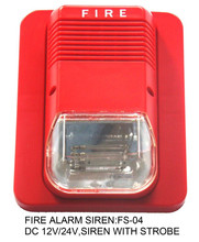 Fs-04, Dc 12 v 24 v alarme incendie, Haute lumière