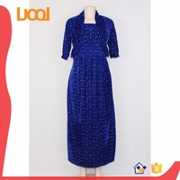 new design strap dresses with shawl decent dresses high quality