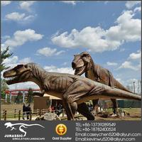 Remote Control Jurassic Park Life-Size T-Rex Mechanical Robot Dinosaur