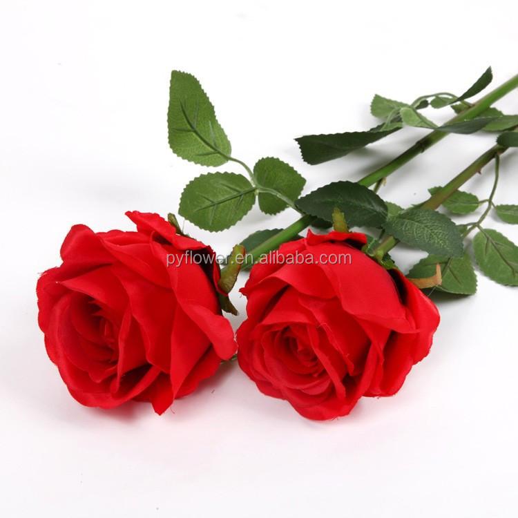 Single Rose Handmade Velvet