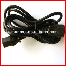 Shenzhen factory c13 c14 connector power cord manufacturers north american power cord