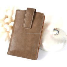 2015 New Design PU leather Flip Wallet Pouch case for iphone 6/6 plus