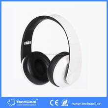wholesale super bass stereo oem phone headphone artificial protein leather made ear cap bluetoorh headphone